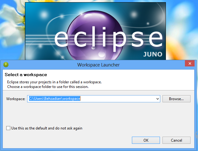 setup-eclipse-workspace