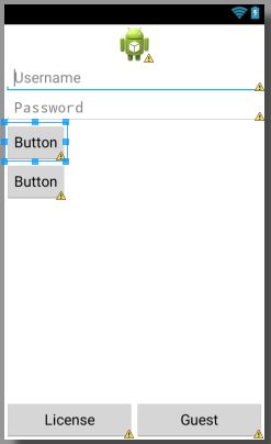 android-ch11-add-login-signup-buttons-vertically